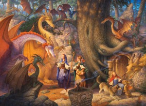 A Confabulation of Dragons - Scott Gustafson